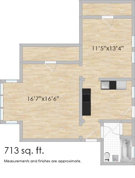 136 N. Humphrey Ave. #1N