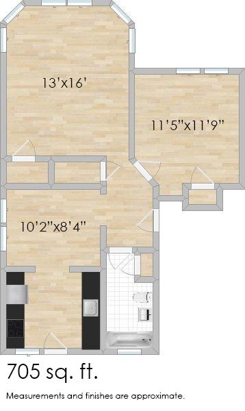 511 S. Cuyler Ave. #3N