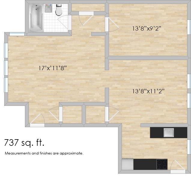 818 S. Austin Blvd. #3E