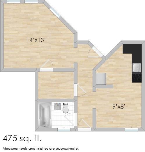 532 Desplaines Ave. #1F