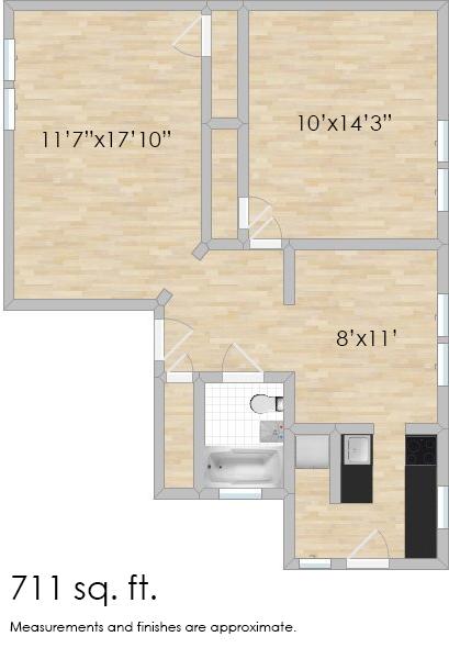 638 Harrison St. #3W