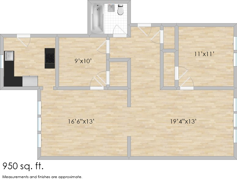 5961 West End Ave. #1