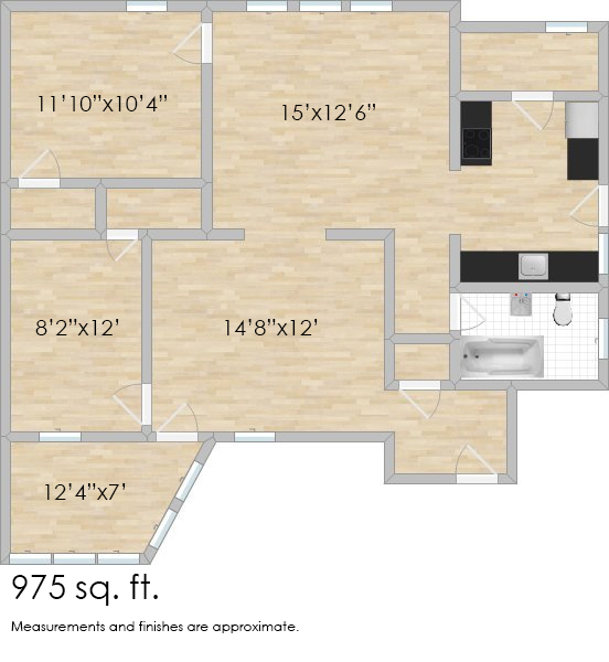 412 N. Taylor Ave. #1E