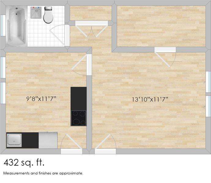 429 N. Humphrey Ave. #F3