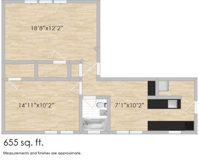 638 Harrison St. #3E