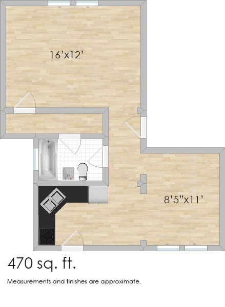 417 Thatcher Ave. #3D