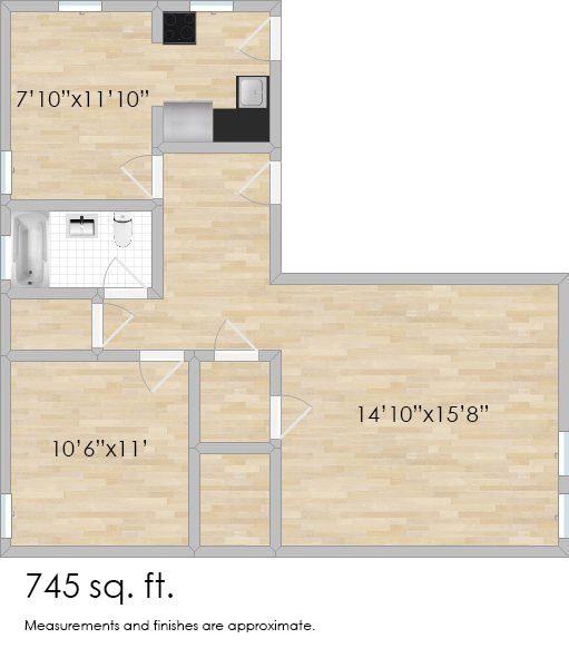 913 Wesley Ave. #2
