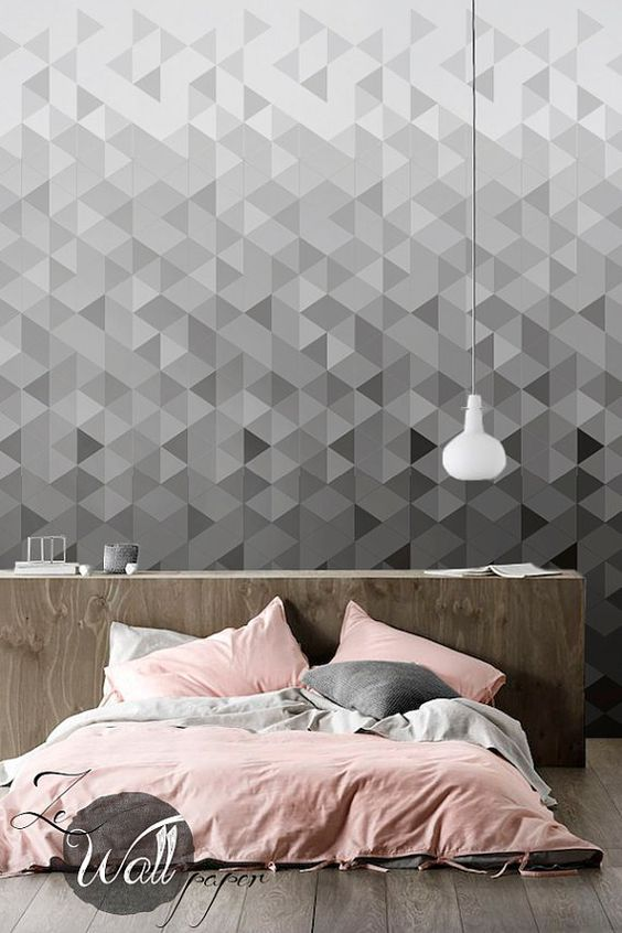Removable designs for your apartment oak park apartments for New bedroom wallpaper