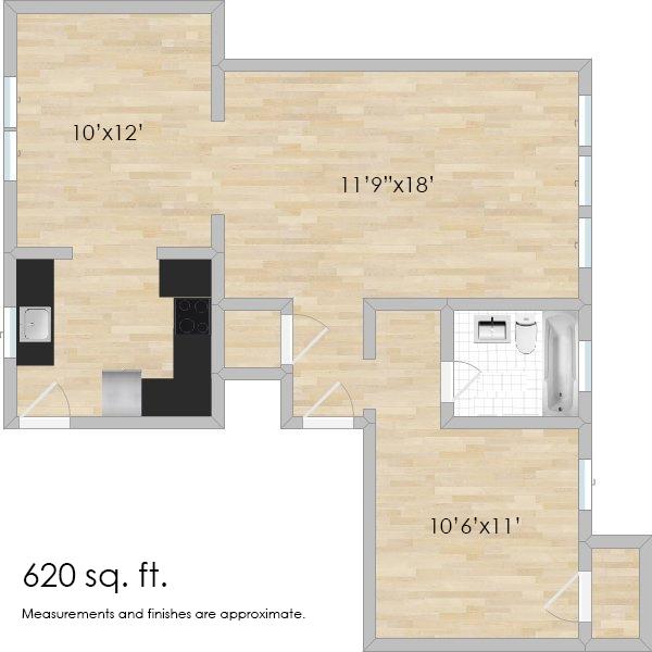 924 Ontario St. #1N