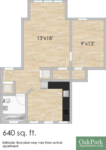803 Randolph St. #2E