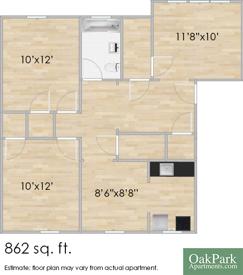 925 Wesley Ave #1